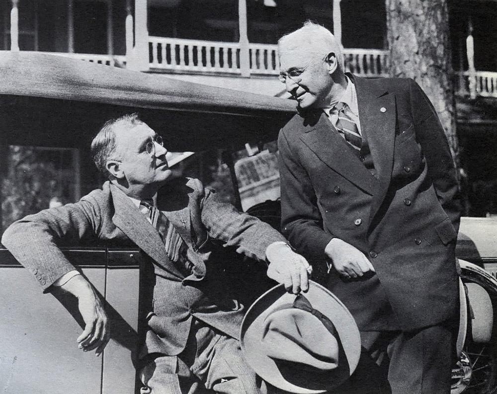 Президент Рузвельт и Барух