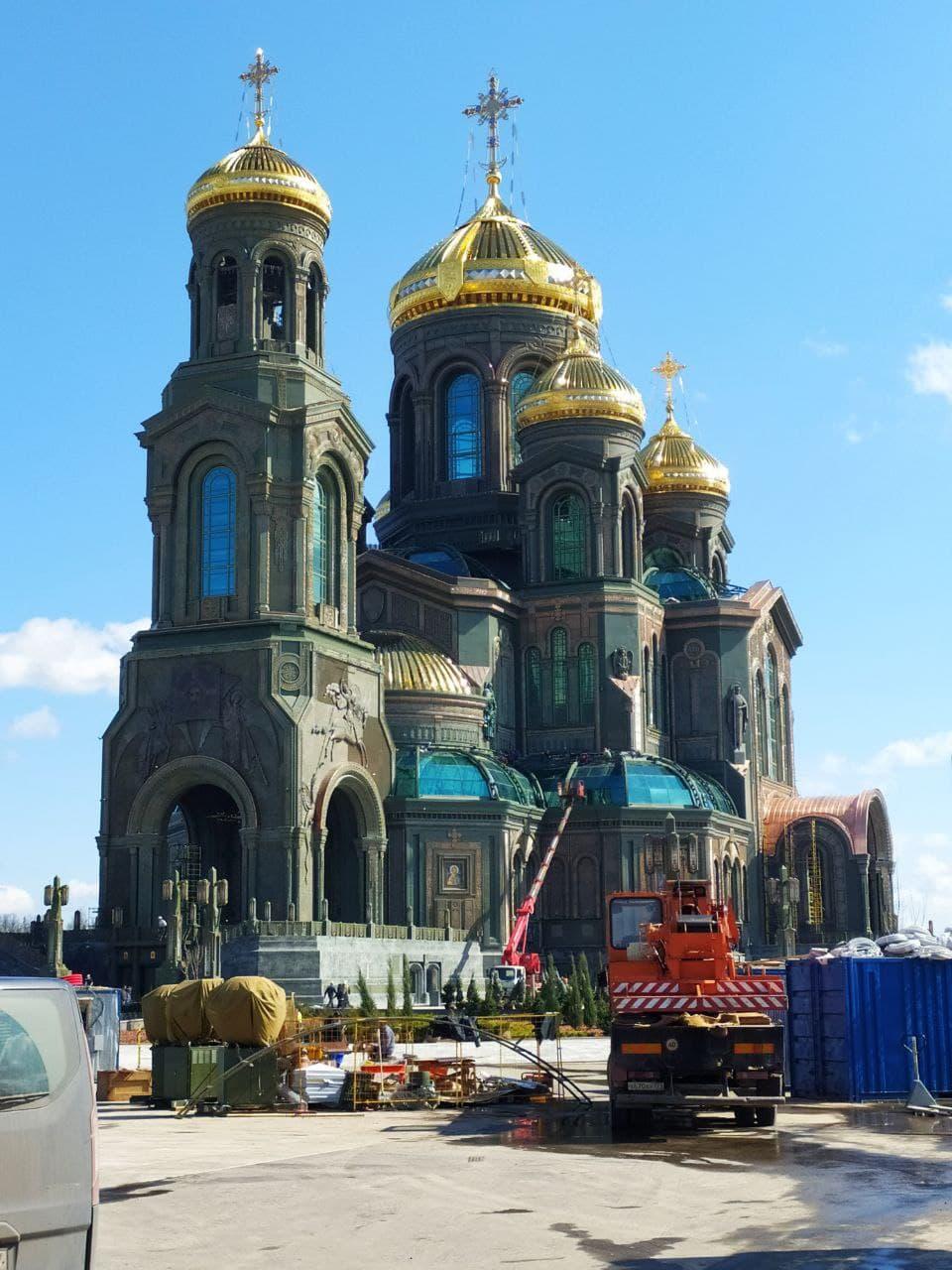 Готовый храм ВС РФ